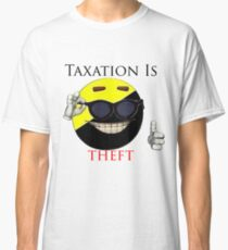 Taxation Is Theft - Ancap Classic T-Shirt