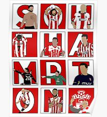 Southampton FC Players through the years  Poster