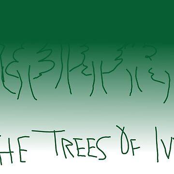 Green Trees  by fonzyhappydays