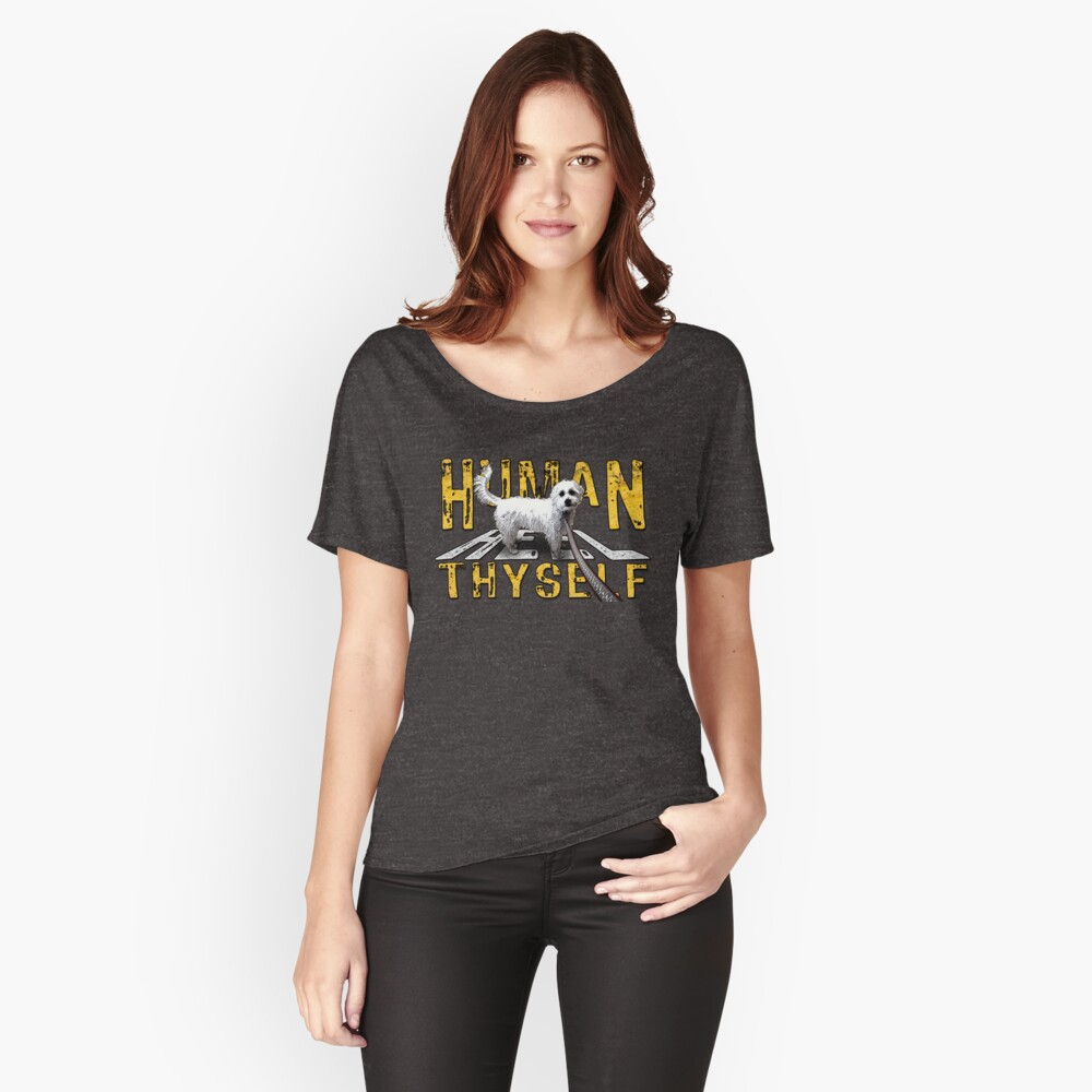 The Crosswalk Women's Relaxed Fit T-Shirt Front