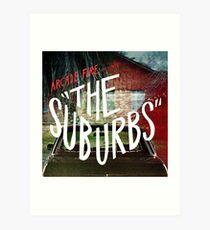 Arcade Fire - The Suburbs Art Print