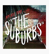 Arcade Fire - The Suburbs Photographic Print