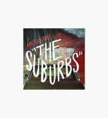 Arcade Fire - The Suburbs Art Board
