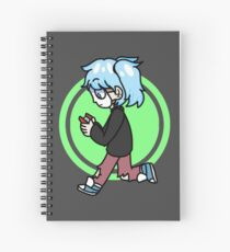 Sally Face - Looking for Spooks Spiral Notebook