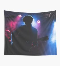 Guitarist In Concert Wall Tapestry
