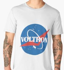 Voltron/Nasa Logo Men's Premium T-Shirt