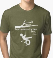 To Kill A Mockingbird Quote, I Think There's Just One Kind Of Folks, Folks Tri-blend T-Shirt