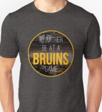 I'd Rather Be at a Bruins Game T-Shirt