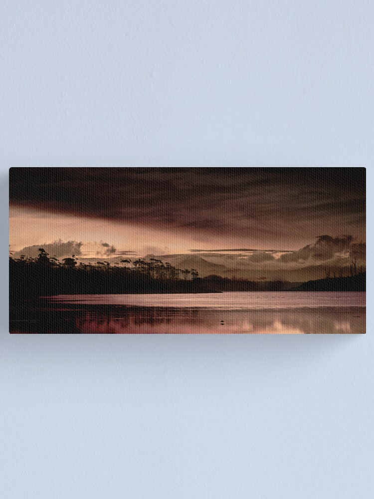 Alternate view of End of Day version 2 Canvas Print