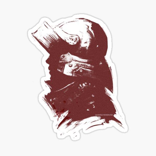 Sallet Knight in Red Sticker