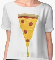 Greasy Pepperoni Pizza  Chiffon Top