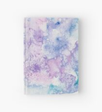 Abstract Pink, Blue, and Purple Watercolor Design #2 Hardcover Journal