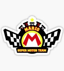 Super Motor Team Sticker