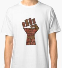 Liberate feminist power to the people fist Classic T-Shirt