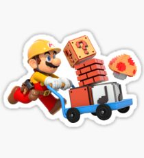 Brico mario Sticker