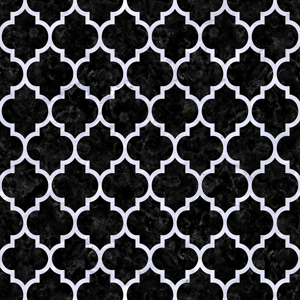 TILE1 BLACK MARBLE AND WHITE MARBLE by johnhunternance