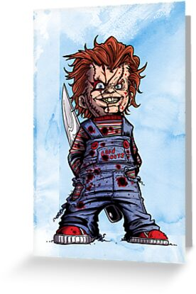 CHUCKY COLOR by mrbones
