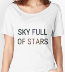 Sky Full of Stars Women's Relaxed Fit T-Shirt
