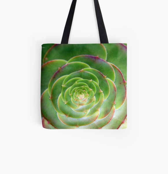 Unfurled All Over Print Tote Bag