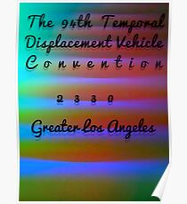 The 94th Temporal Displacement Vehicle Convention 2330 Poster
