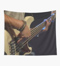 Electric Guitarist  Wall Tapestry