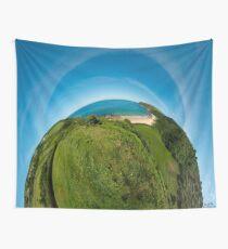 Kinnagoe Bay (as half a planet :-) Wall Tapestry