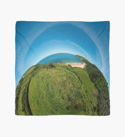 Kinnagoe Bay (as half a planet :-) Scarf