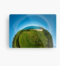 Kinnagoe Bay (as half a planet :-) Metal Print