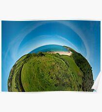 Kinnagoe Bay (as half a planet :-) Poster