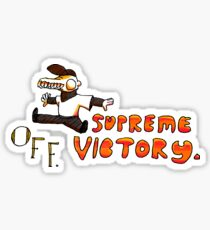Supreme Victory (Collab) Sticker