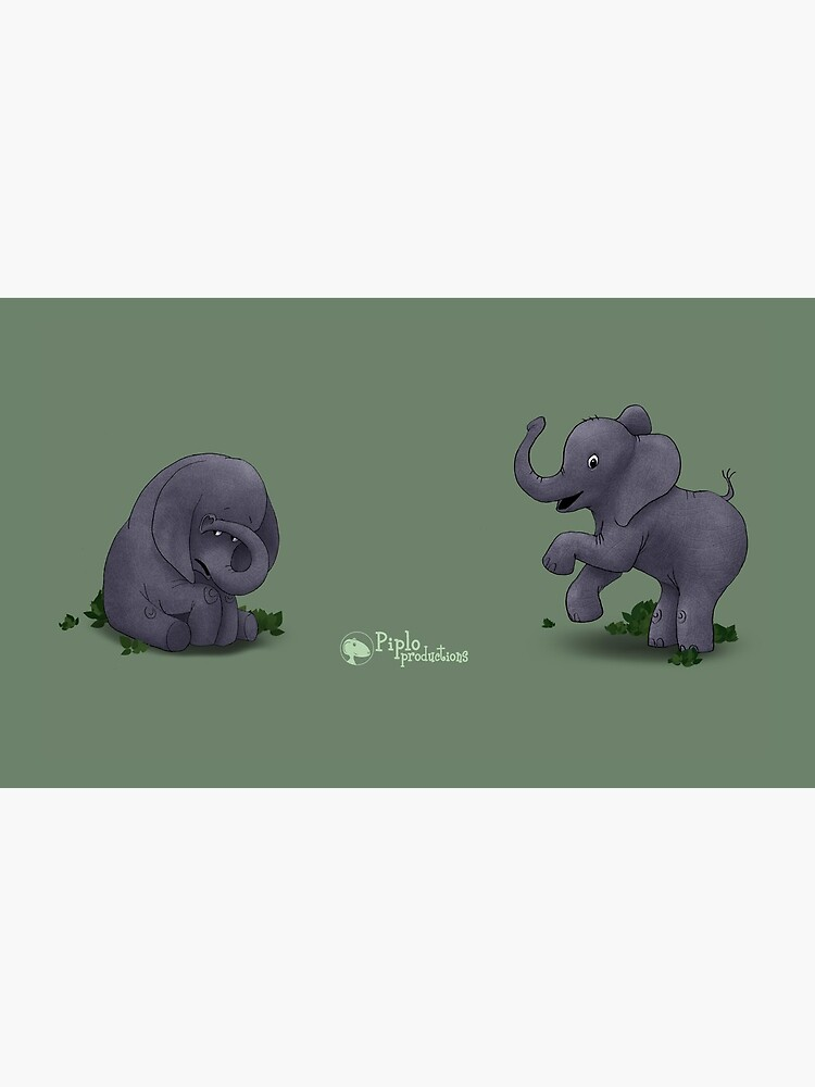 Two Moods of Elephant by piploproduction