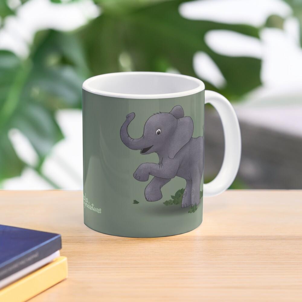 Two Moods of Elephant Mug