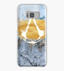 Assassin's Creed - Yellow Marble Print Design Samsung Galaxy Case/Skin