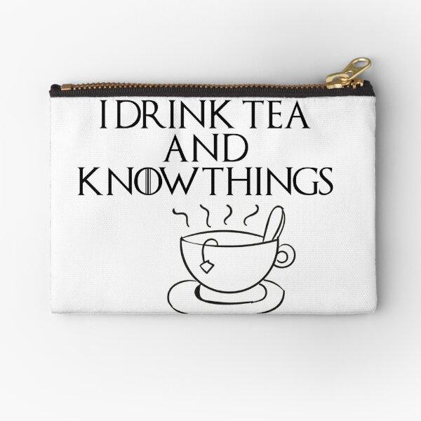 Bebo té y sé cosas Bolsos de mano
