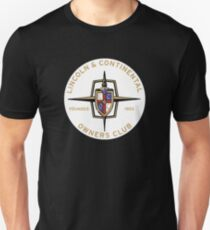 Lincoln Continental Owners Club T-Shirt