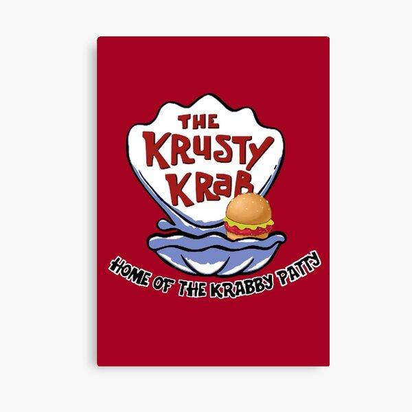 Krusty Krab Canvas Print