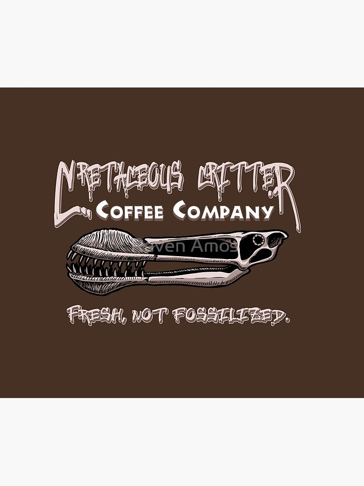 Cretaceous Critter Coffee Co. by alaskanime