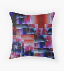 Needlepoint Abstract Throw Pillow