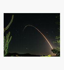 Minuteman ICBM GT220 Photographic Print