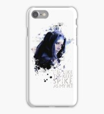Illyria - I'd Like To Keep Spike As My Pet iPhone Case/Skin