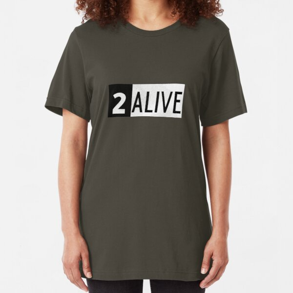 2 ALIVE Slim Fit T-Shirt