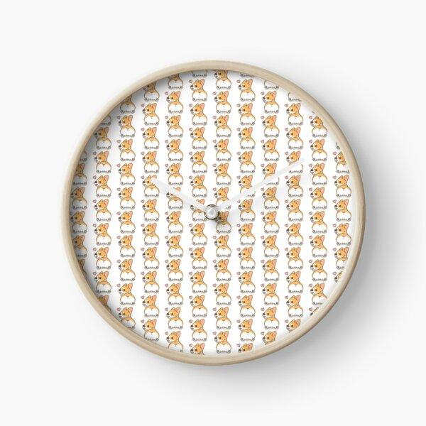 Fluffy Cute Corgi Butt Reloj