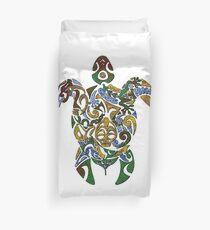 Sea Turtle Art Design Duvet Cover