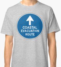 Coastal Evacuation Route Classic T-Shirt