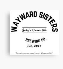 Wayward Sisters Canvas Print