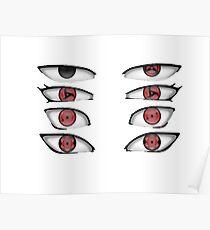 Naruto Sharingan Uchiha Poster