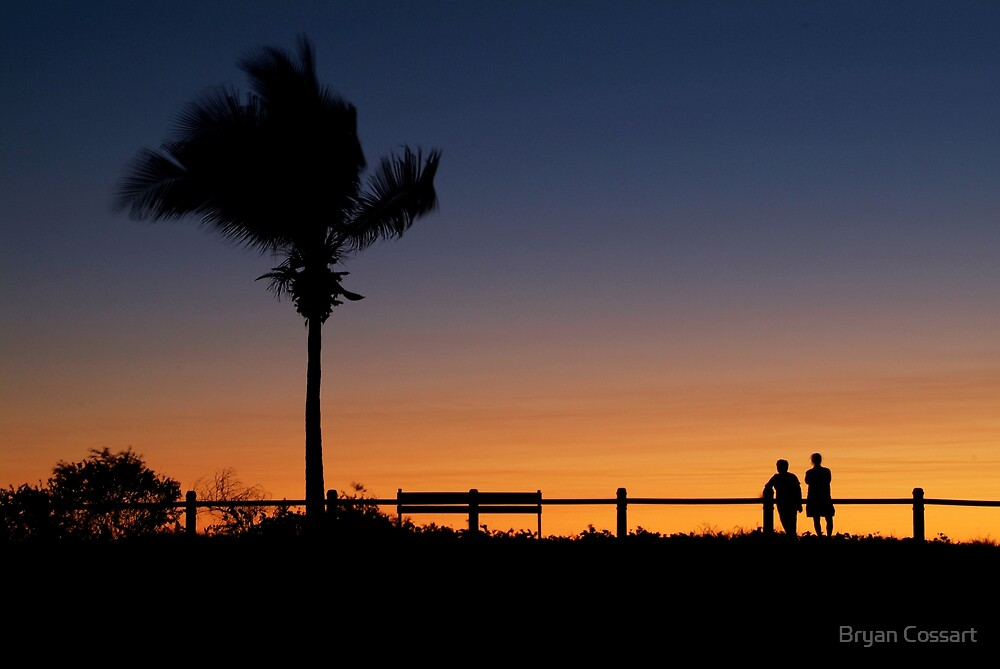 Cable Beach Silhouette by Bryan Cossart