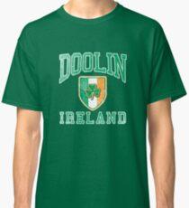 Doolin, Ireland with Shamrock Classic T-Shirt