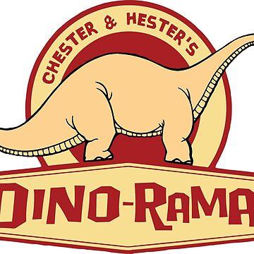 Chester & Hester's Dino-Rama by JayLenosChin
