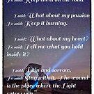 Die Wunde ist der Ort, wo das Licht dich trifft - Rumi von OLena  Art ❣️